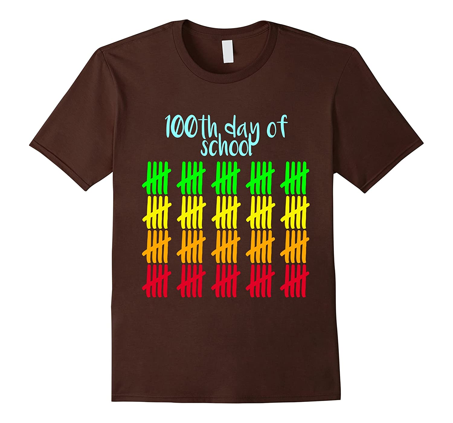 100th Day of School T-Shirt Happy 100th Day of School Tee-RT