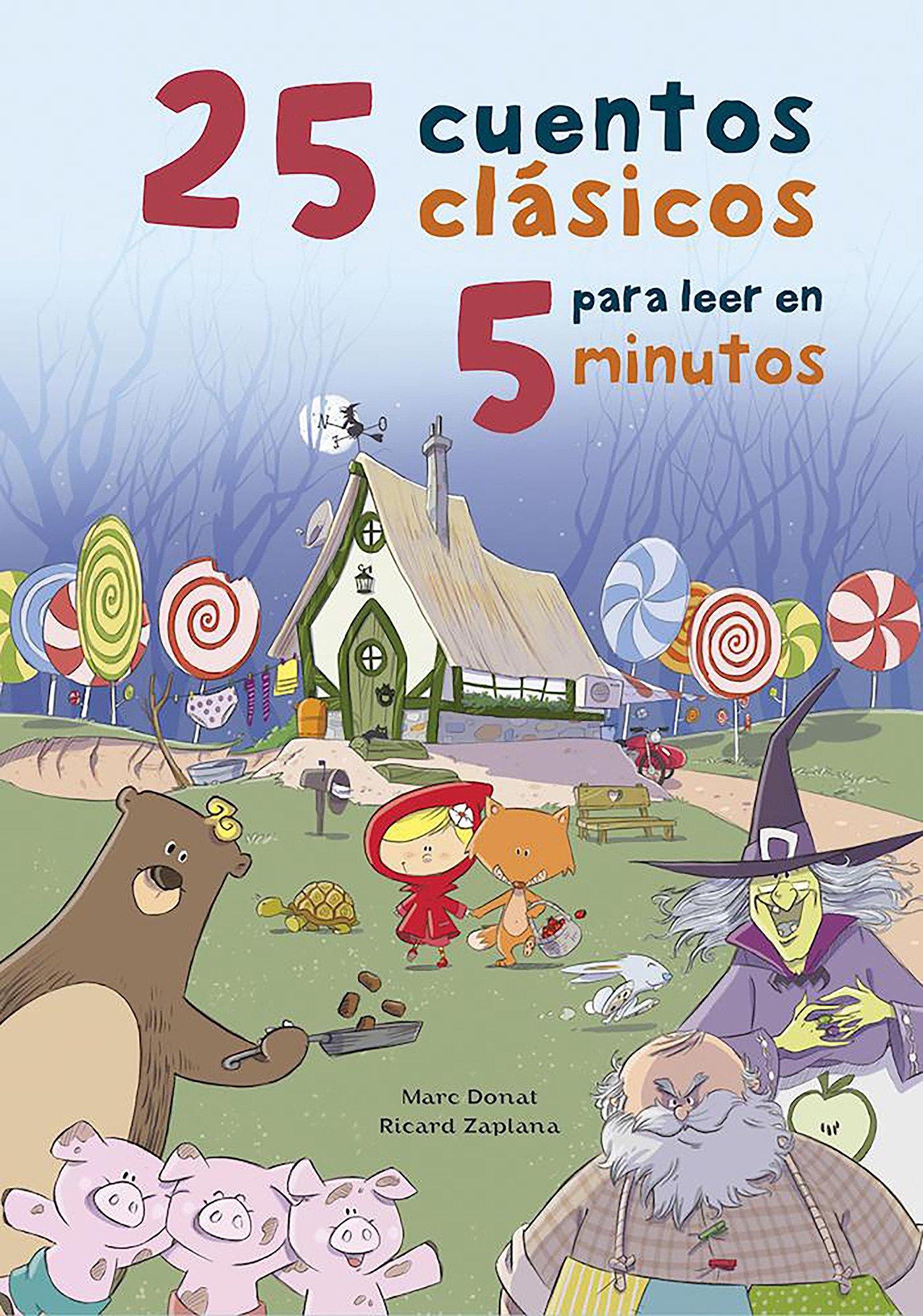 Download 25 cuentos clasicos para leer en 5 minutos / 25 Classic Stories to Read in 5 Min utes (Spanish Edition) PDF