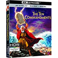 The Ten Commandments (4K UHD + Blu-ray + Digital)