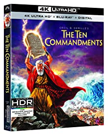 THE TEN COMMANDMENTS Debuts on 4K Ultra HD March 30th to Celebrate 65th Anniversary from Paramount