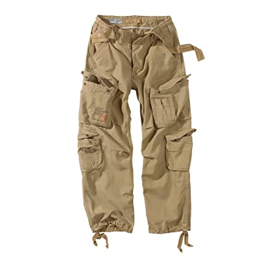Surplus Raw Vintage Airborne Trousers Herren Cargo Hose  Amazon.de   Bekleidung 38bd8d3e93