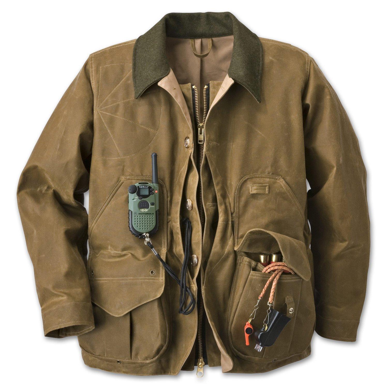 Filson Men's Tin Cloth Field Coat Tan Outerwear