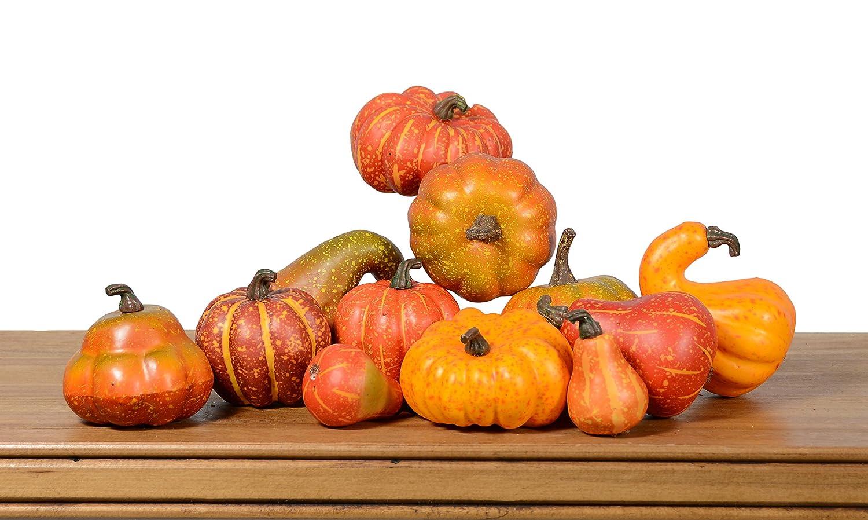 Artificial Gourds and Pumpkins- Fall Bowl Filler YF1930