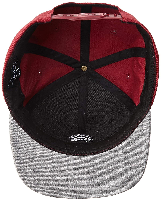 the latest d8268 1d0a2 Amazon.com  Volcom Men s Quarter Twill Snapback Hat  Clothing