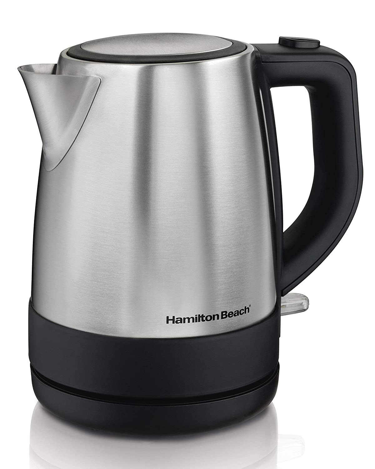Hamilton Beach 40998 Electric Kettle, 1L, Silver (Certified Refurbished)