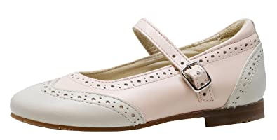 6ca8c2e4f41 Gallucci Girls' Ballet Flats pink Rosa-Beige: Amazon.co.uk: Shoes & Bags