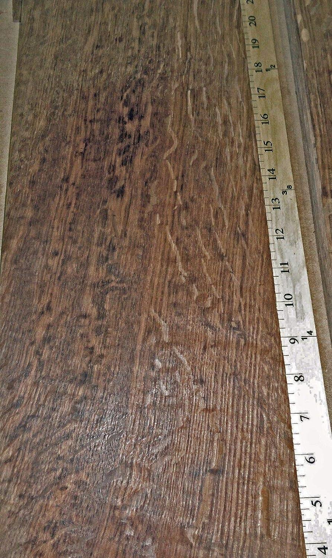 "English Brown Oak Tiger Flake Figure wood veneer 7/"" x 83/"" raw 1//42/'/' thick # 15"