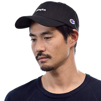 (チャンピオン) Champion 帽子 メンズ レディース コットン ツイル ストラップ バック ローキャップ COTTON TWILL LOW