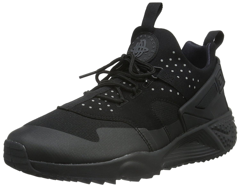Nike Air Huarache Utility, Zapatillas de Running para Hombre 45.5 EU Negro (Black/Black-black)