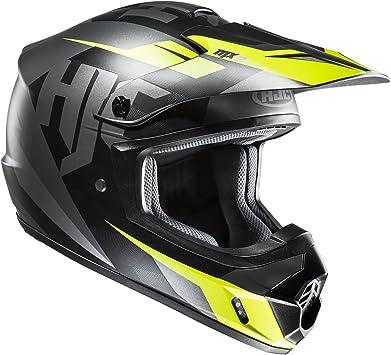 Black//Fluo MC5SFXS HJC CS-MX II Dakota MX Motocross Off Road Enduro Helmet
