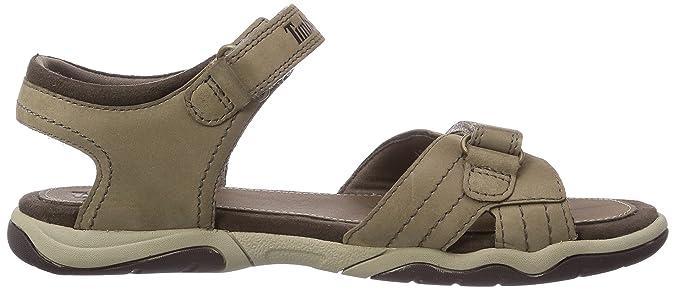 zapatos de separación Tienda vista previa de Timberland Earthkeepers Oak Bluffs Sandalias de cuero niño, Color ...
