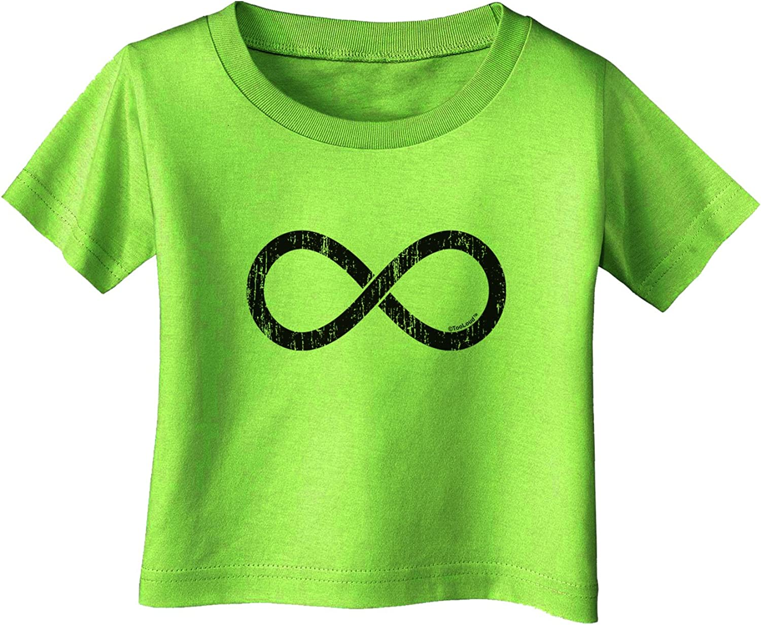 TOOLOUD Distressed Infinity Infant T-Shirt