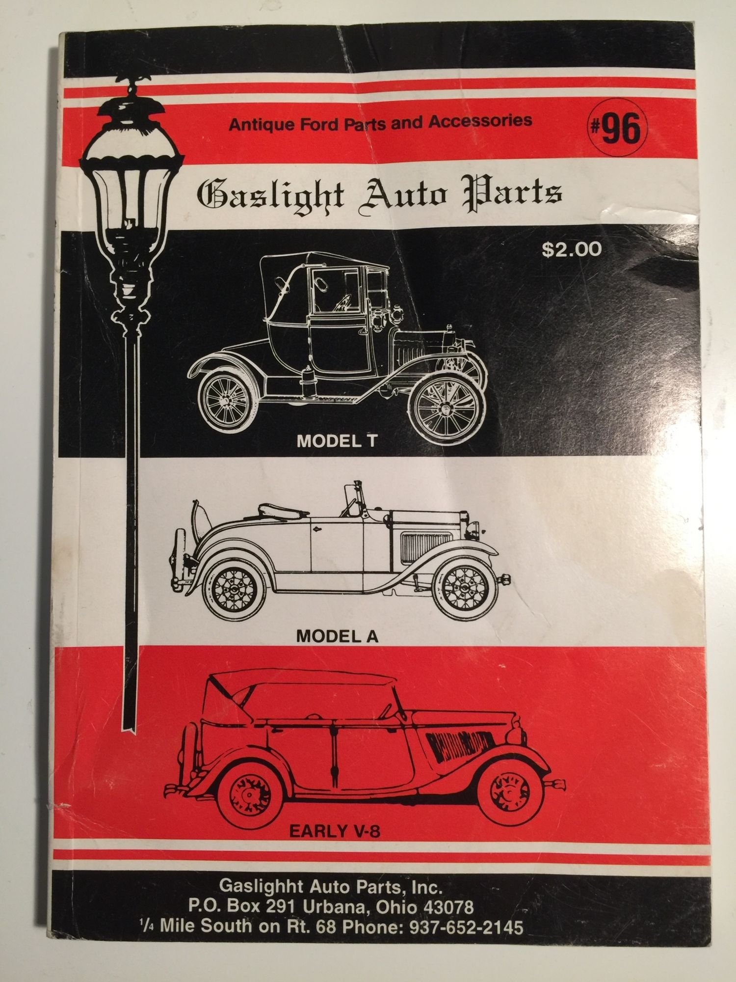 Gaslight Auto Parts Antique Ford Parts and Accessories: Inc