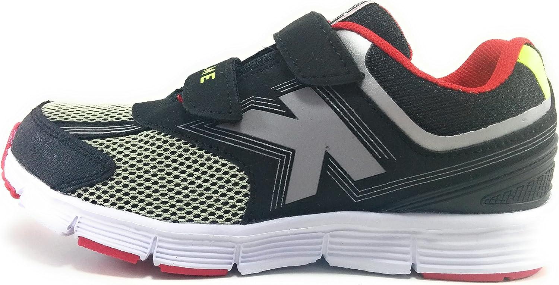 Kelme Action V Zapatillas de Niño Running con Velcro: Amazon.es: Zapatos y complementos