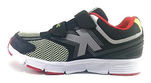 Kelme Action V Zapatillas de Niño Running con Velcro (28 EU)