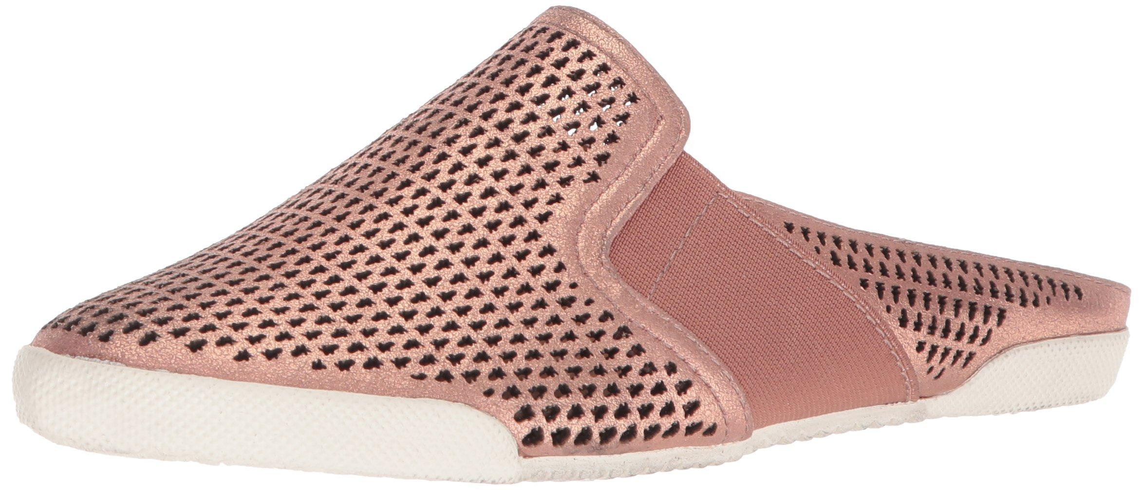 FRYE Women's Melanie Perf Mule Sneaker, Rose Gold, 10 M US