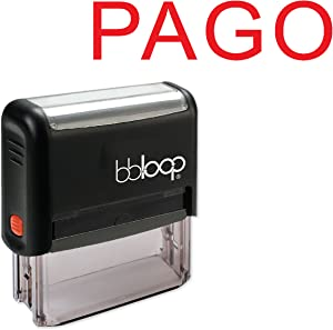 """""""Pago"""" Self-Inking Rubber-Stamp in Spanish"""
