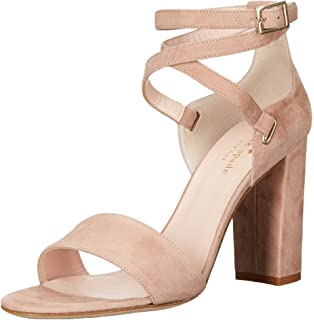 e1dfcfc9e317 Amazon.com  Kate Spade New York Women s Central Too Heeled Sandal ...