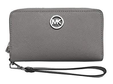 ae4677d3abc2 Image Unavailable. Image not available for. Color: Michael Kors Fulton  Large Flat Multifunction Phone Case ...