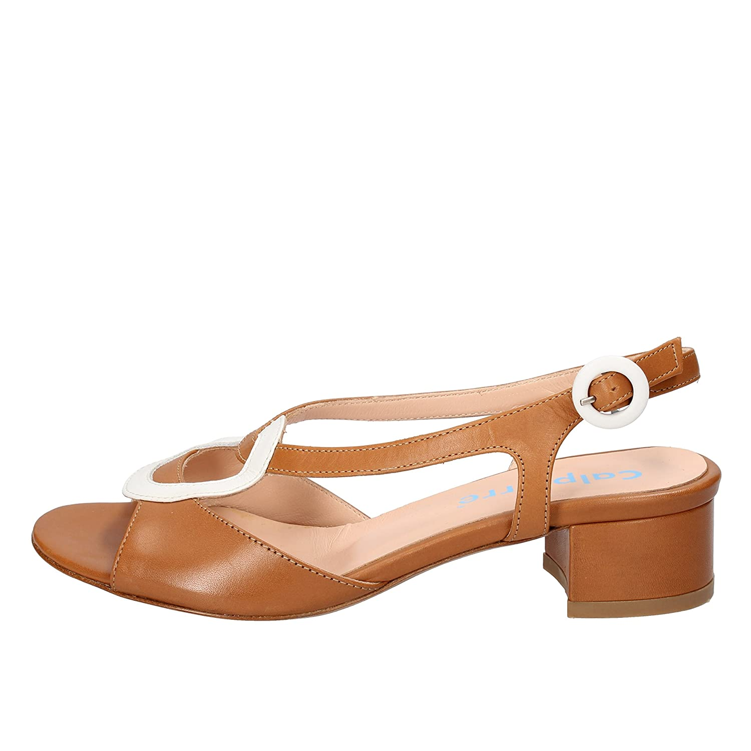 - CALPIERRE Sandals Womens Leather Brown