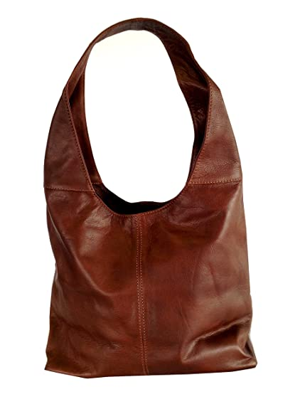 e5a6a6d3d9 Soft Italian Brown Leather Handbag