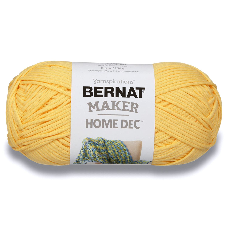 Bernat Hilo de Maker Moda, Dorado, 236.58ml (8oz), 1: Amazon.com.mx ...