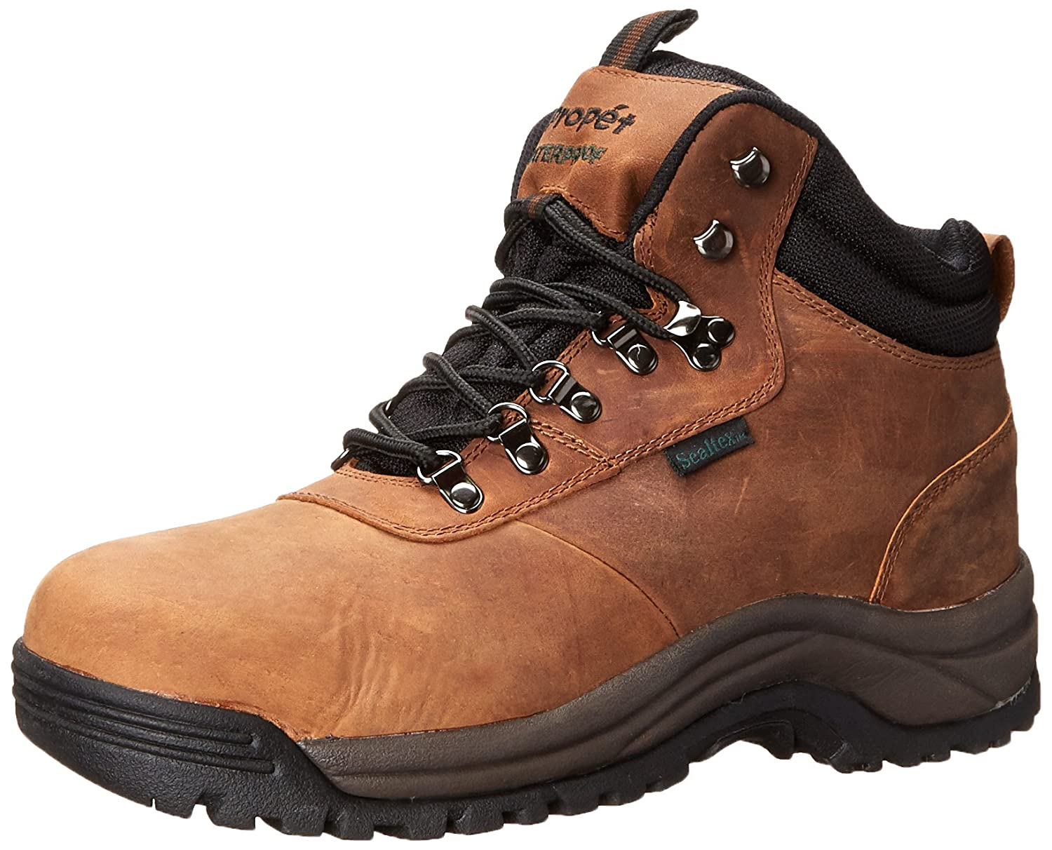 Propét Mens Cliff Walker Closed Toe Leather Fashion Boots B000P3RXFC 16 D(M) US|ブラウンヌバック ブラウンヌバック 16 D(M) US