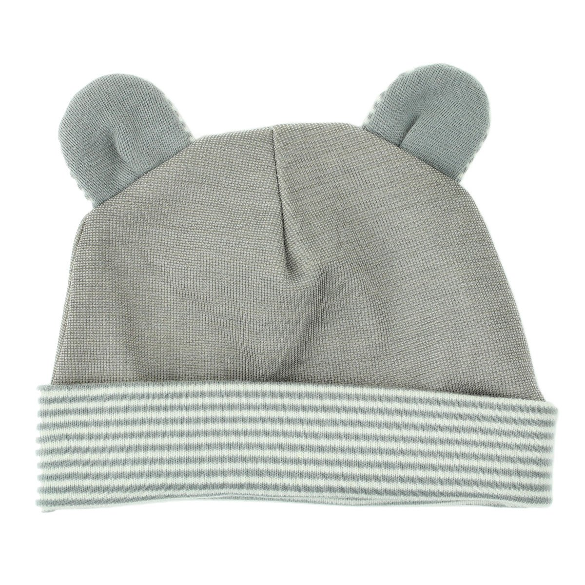 Belly Armor Anti-Radiation Baby Hat | Organic Cotton | Available in Two Styles: Rabbit or Mouse RadiaShield Technologies BH.MO.1.07.15.00082