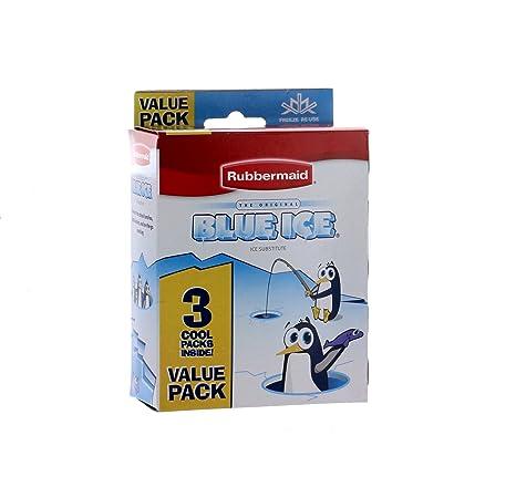 Amazon.com: Rubbermaid – Blue Ice – Sustituto de hielo. 3 ...