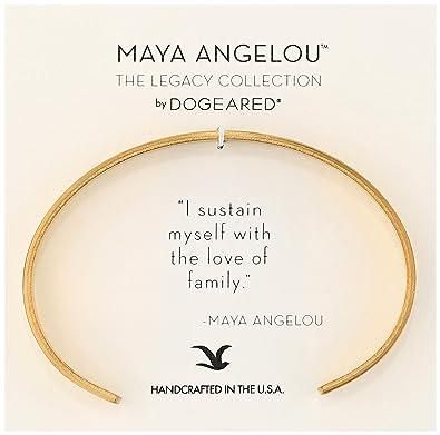 Amazoncom Dogeared Maya Angelou 20 I Sustain Myself Thin