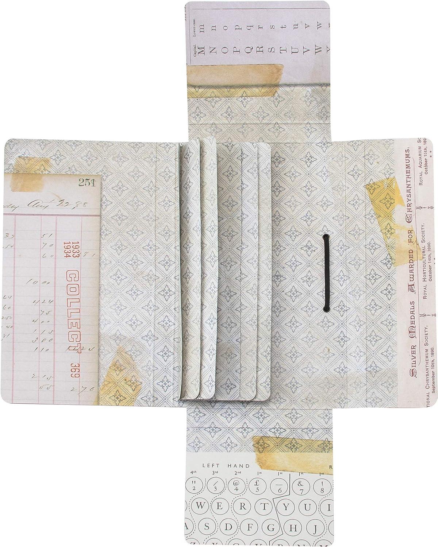 Amazon.com: Tim Holtz - Advantus TH94032 Travel IDEA-OL 3 piezas, Folio,  cuaderno y banda de plástico: Arte, Manualidades y Costura
