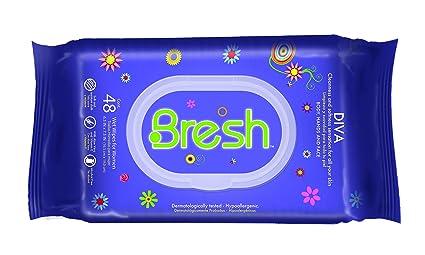 Bresh toallitas para las mujeres – hipoalergénico y PH Equilibrado toallitas húmedas – Ideal después de