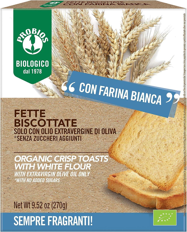 Pan tostado ecológico PROBIOS (12 paquetes)