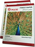 100 Sheets 5x7 / 7x5 (127mm x 178mm) 230gsm High Quality White Glossy Photo Paper For All Inkjet Printers
