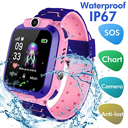 Amazon.com: Bohongde - Reloj inteligente para niños ...