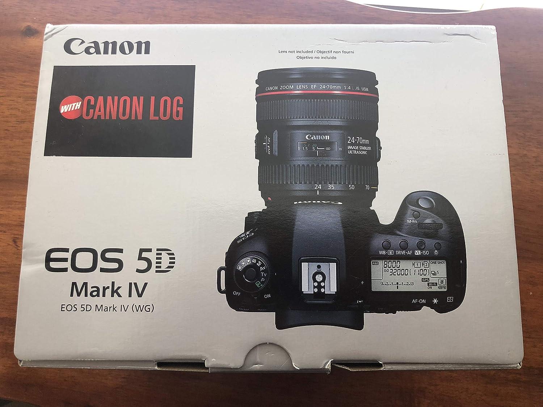 Canon EOS 5D Mark IV Digital SLR Camera Body with Canon Log