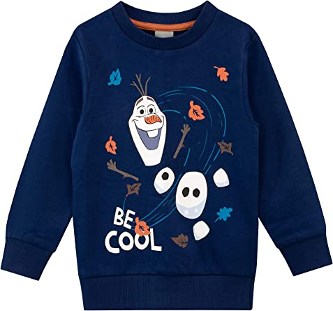 Disney Boys Frozen Sweatshirt Olaf
