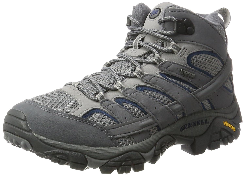 gris (Castlerock) 42 EU Merrell Moab 2 Mid GTX, Chaussures de Randonnée Hautes Homme