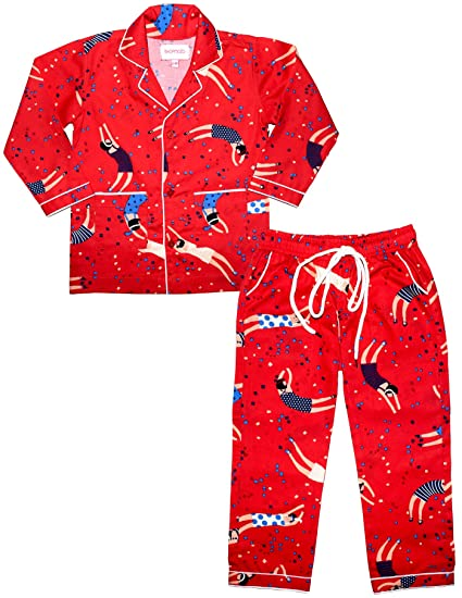 f5e275720 ShopMozo Red Multicolor Print Pure Cotton Unisex Night Suit Boys and ...