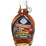 Steeves Sugar-Free Maple Syrup | Glass Bottle (8.5 oz / 250ml) | Keto Friendly, 0g Net Carbs, Low Carbs, 1.4 Calories per Ser