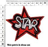 Red Star Shine Shining Sparkle in The Sky Joke
