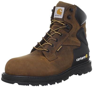 Carhartt Men's CMW6220 6 Steel Toe Work Boot,Bison Brown,8 ...