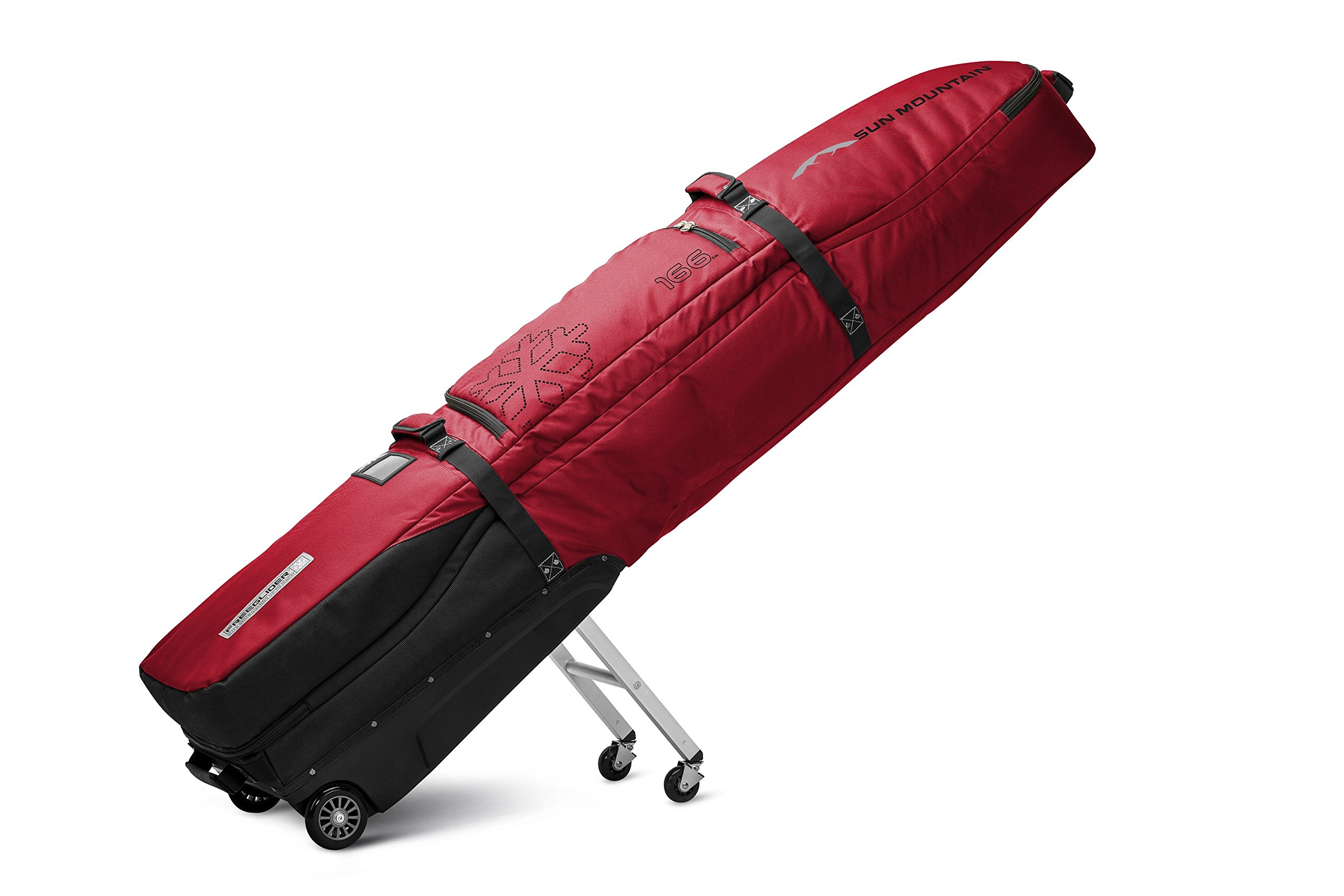 Sun Mountain FreeGlider Travel Bag 2017 Black/Red by Sun Mountain