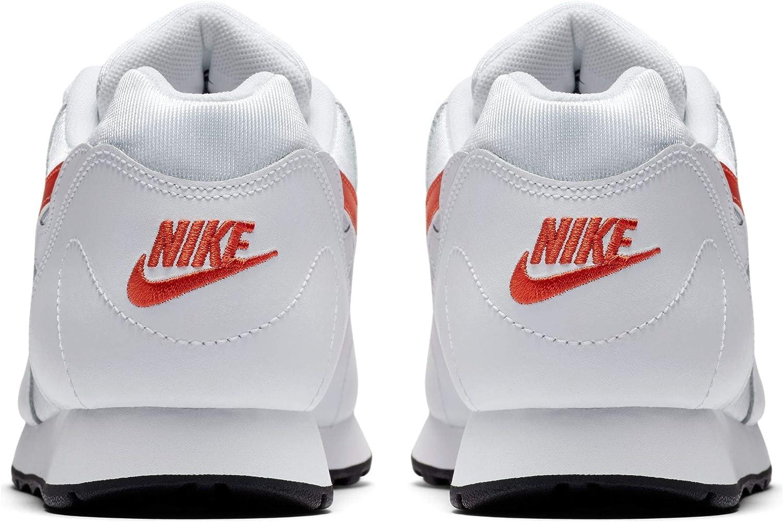 Nike Women's Low-Top Sneakers Multicolour White Team Orange Black 001