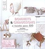 Bonnets et chaussons à tricoter pour bébé