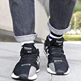 SENT CHARM No Tie Shoelaces for Adults Elastic Shoe Laces for Sneakers No Tie Adult Tieless Shoelaces Laceless Rubber Silicone Shoelaces for Running Sports