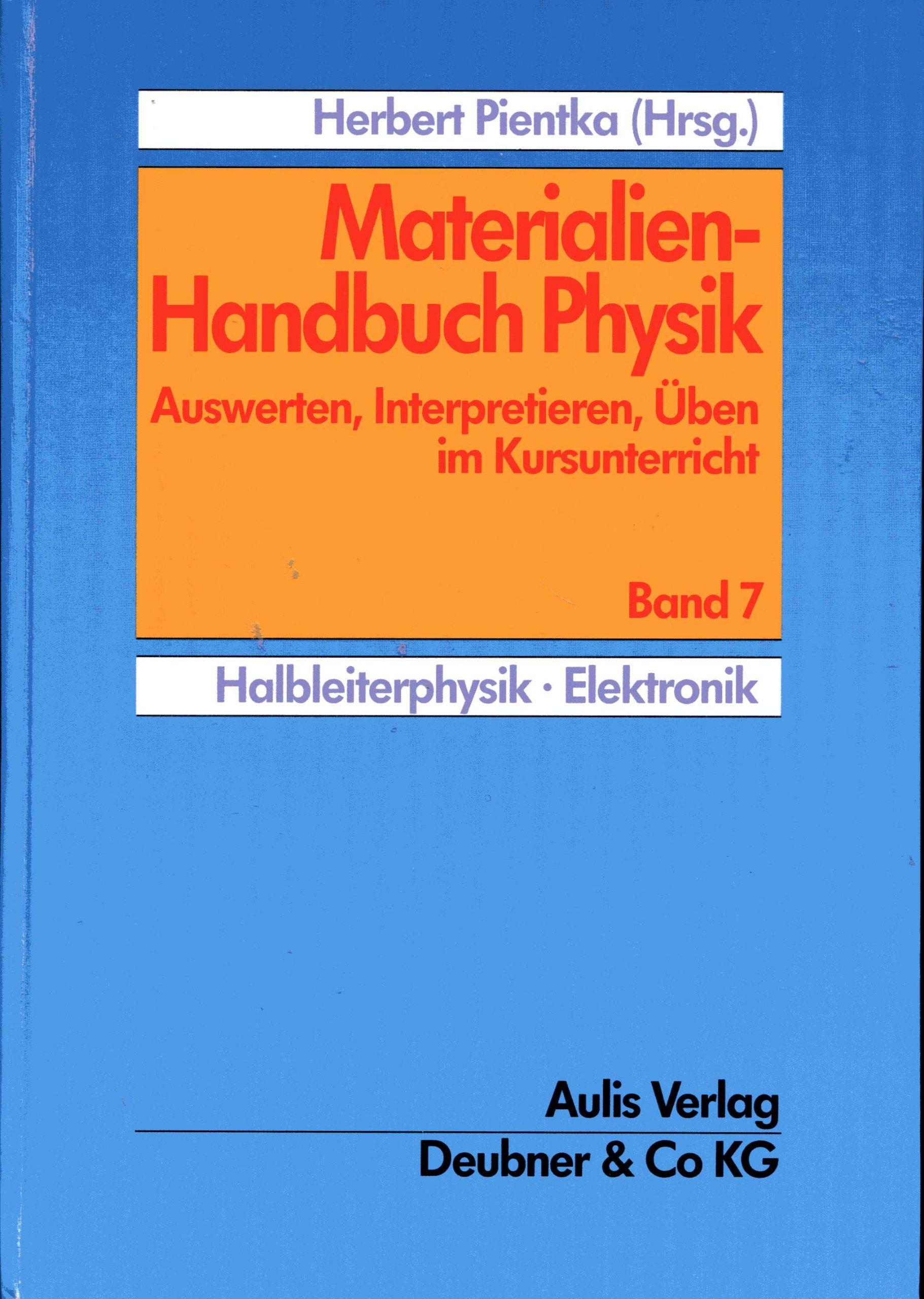 Materialien Handbuch Physik Auswerten Interpretieren üben Im