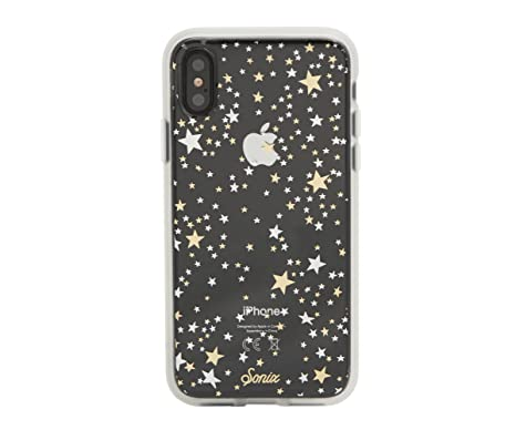 meet d0c79 d1061 iPhone XS, iPhone X, Sonix STARRY NIGHT (gold, silver, stars) Cell Phone  Case [Military Drop Test Certified] Clear Case for Apple iPhone X, iPhone XS