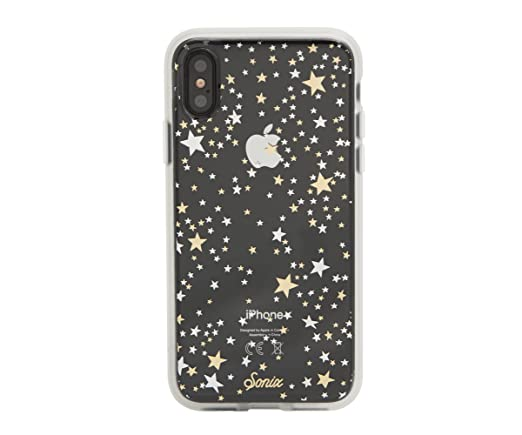 meet 54a34 53d4b iPhone XS, iPhone X, Sonix STARRY NIGHT (gold, silver, stars) Cell Phone  Case [Military Drop Test Certified] Clear Case for Apple iPhone X, iPhone XS