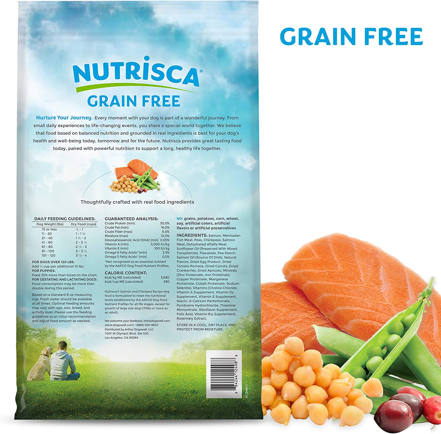 Dogswell nutrisca Salmon/Chickpea